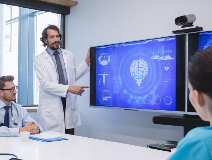 Affichage dynamique médical CIP Business