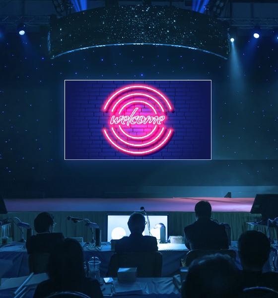 affichage numérique événementiel CIP Business