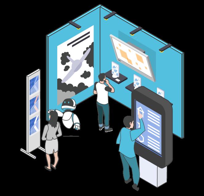 bornes interactives CIP Business