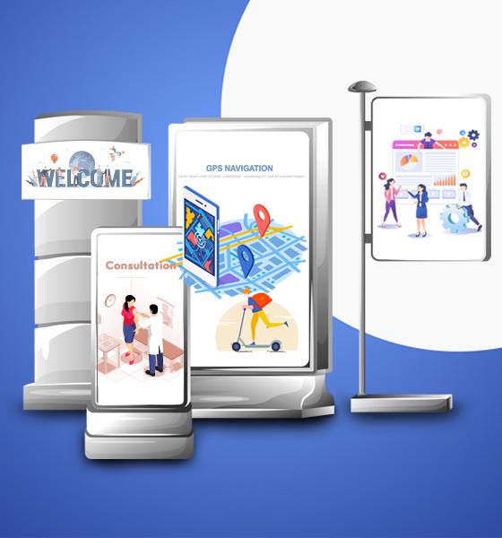 Solutions d'affichage numérique CIP Business